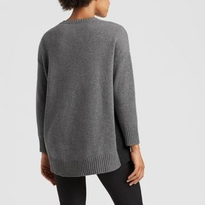 Eileen Fisher Lofty Dolman Sleeve Cashmere Sweater
